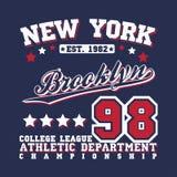 Teeshirt print design Royalty Free Stock Photo