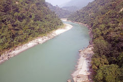 Teesta River, West Bengal, india Royalty Free Stock Photo