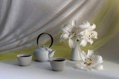 Teet i koppar Royaltyfria Bilder