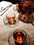 Teetageszeit kaltes Lizenzfreies Stockfoto