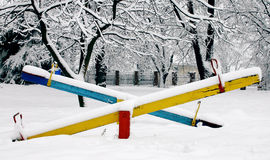 Teeter-Totter Royalty Free Stock Photos