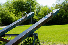 Teeter Totter Royalty Free Stock Photography