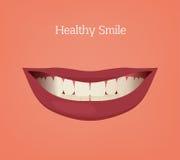 Teeth Bite vector Stock Image