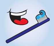 Teeth Brush Royalty Free Stock Images