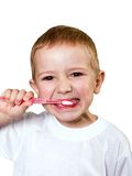 Teeth brushing Royalty Free Stock Photography