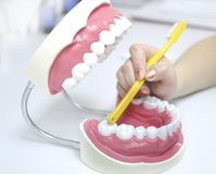 Teeth care Royalty Free Stock Images
