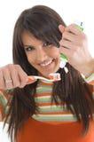 Teeth care Royalty Free Stock Photos
