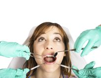 Teeth control Royalty Free Stock Photo