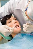 Teeth cure Stock Photos