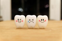 Teeth cute toy Royalty Free Stock Image