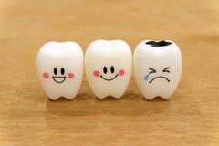 Teeth cute toys Royalty Free Stock Image