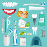 Teeth dental care mouth health office Stock Photography