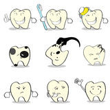 Teeth Dental Health Care Set Collection Stock Photography