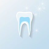 Teeth or dental illustration Stock Photo
