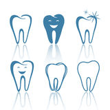 Teeth Designs. Illustration of Abstract Teeth Designs Royalty Free Stock Image