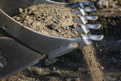 Teeth excavator Royalty Free Stock Image