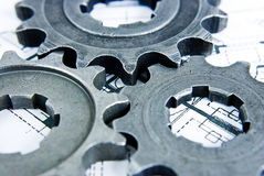 Teeth gear Stock Images