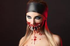 Teeth Halloween Stock Photo