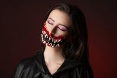Teeth Halloween Stock Photography