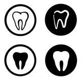 Teeth icon Stock Photos