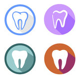 Teeth icon Stock Photos