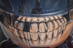 Teeth mural Royalty Free Stock Images