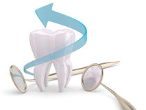 Teeth protection Stock Image