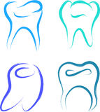 Teeth set Royalty Free Stock Images