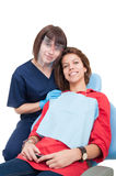 Teeth and smile care concept Stock Photo