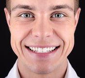 Teeth, smile Royalty Free Stock Images