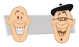 Teeth smiles Royalty Free Stock Photography