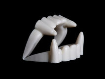 Teeth vampire. For halloween party Royalty Free Stock Photography