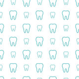 Teeth on white background. Stock Photography