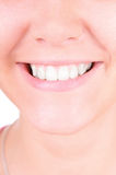 Teeth whitening. Dental care Royalty Free Stock Photos