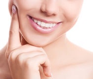 Teeth of a woman Royalty Free Stock Photography