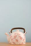 Teetopfhintergrund Stockfotos