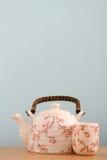 Teetopfhintergrund lizenzfreies stockbild