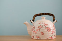Teetopfhintergrund lizenzfreie stockbilder