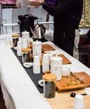 Teeverkäufer Stockfotos