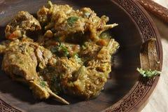Teewarn est non un plat de sindhi de veg Images libres de droits