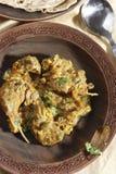 Teewarn est non un plat de sindhi de veg Image libre de droits