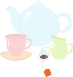 Teezeit Lizenzfreie Stockbilder