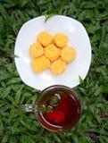 Teezeit. Lizenzfreies Stockbild