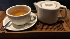 Teezeit in Bali Lizenzfreie Stockfotografie