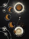 Teezeit im Raum stockfoto