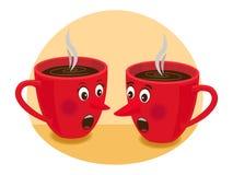 Teezeitklatsch Stockfotografie