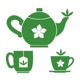 Teezeitkonzept Stockbild