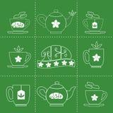 Teezeitkonzept Stockfotos