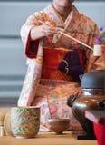 Teezeremonie stockfoto
