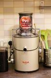 Tefal汁液机器 库存图片